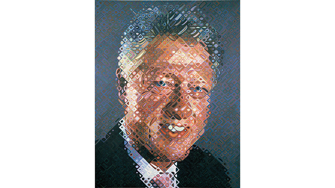 """""""President Bill Clinton,"""" 2006, oil on canvas, 276 x 213cm"""