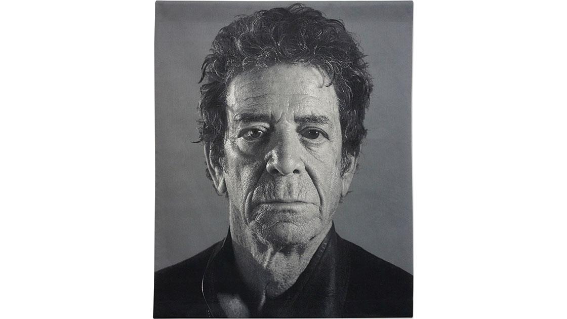 """Lou,"" 2012, jacquard tapestry, 239 x 193cm, ed. of 6"