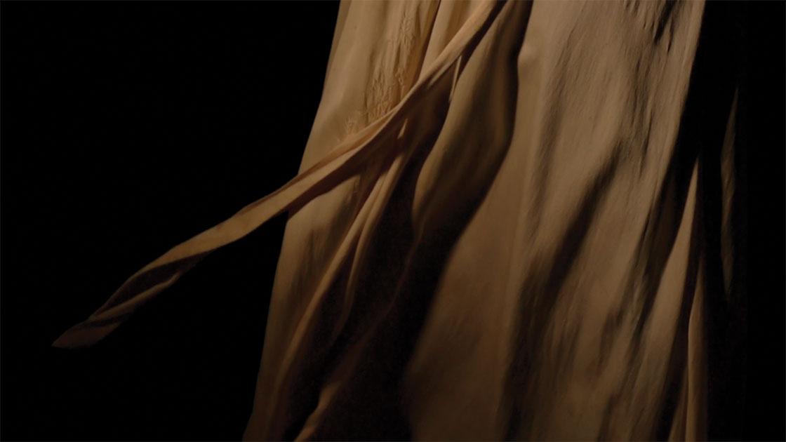"""Ābhāsa (Reflection, Splendour),"" 2021, video with sound, director/concept Emma Walker, camera/edit Grayson Cooke, music Matthew Engelbrecht, courtesy the artist"