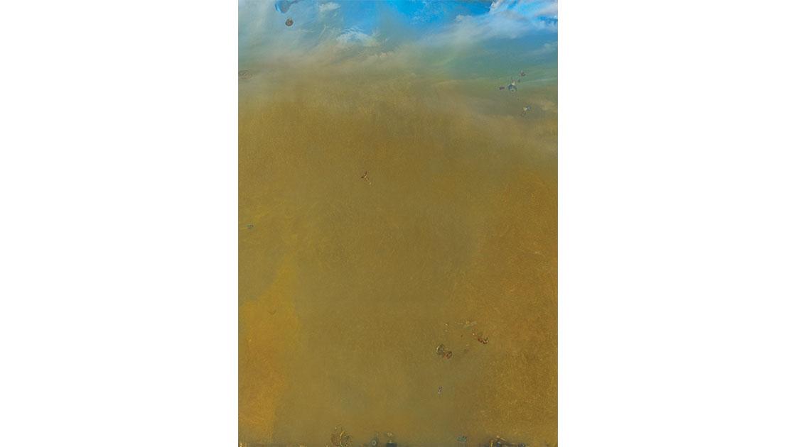 """Phillip George, """"Archeiropoeta #2,"""" 2019, C-type colour print mounted onto Alu-Panel, 175 x 125 cm, courtesy the artist"""