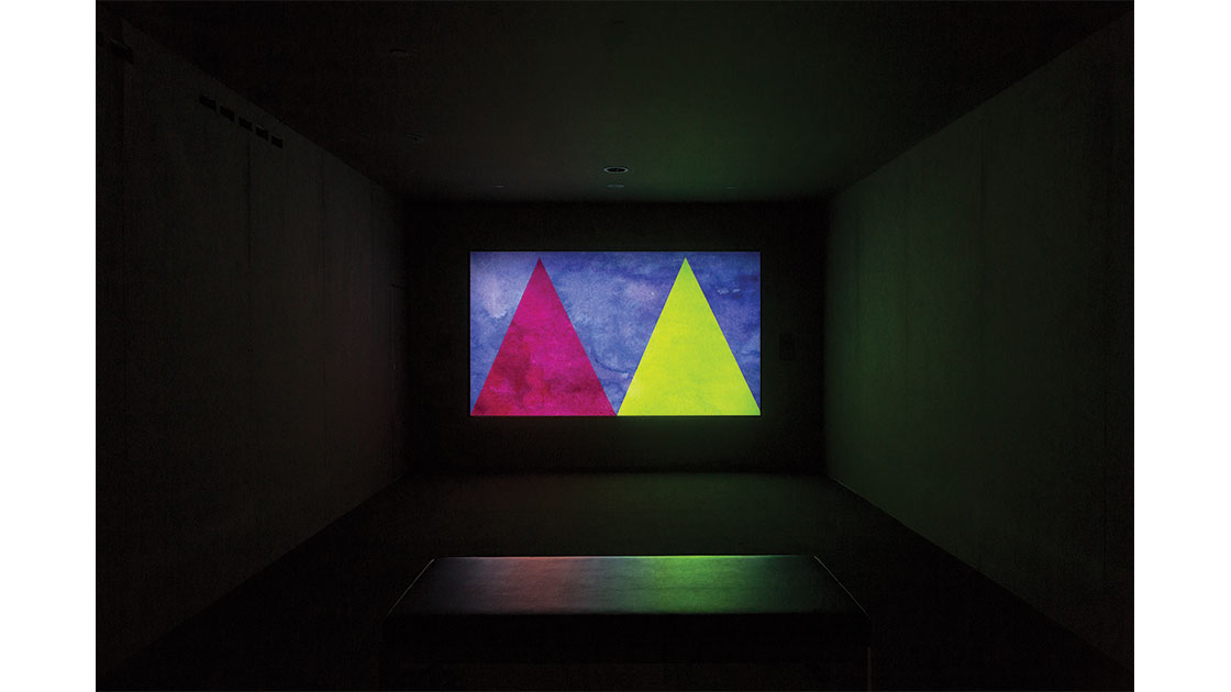 """""""Precipice,"""" 2006, single-channel digital video, colour, silent, 14:16 min, Museum of Contemporary Art, gift of Helen Eager and Christopher Hodges, 2012"""