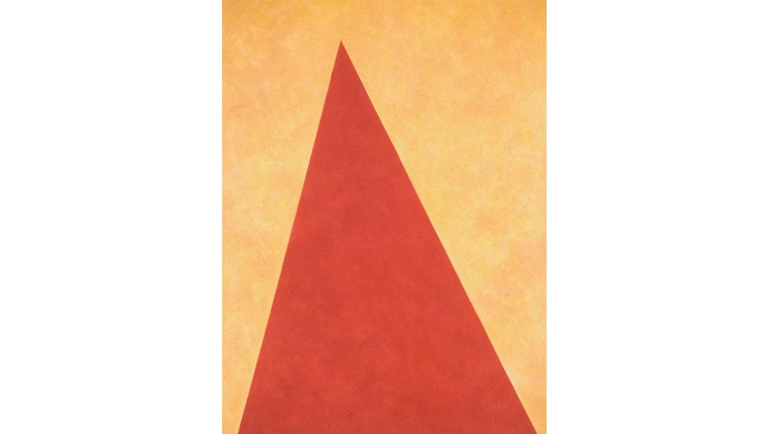 """""""Angle - Dhaulagiri,"""" 1998, oil on canvas, 142 x 106 cm, courtesy the artist and Utopia Art, Sydney"""