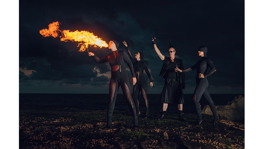 Soul Crime, 2021, -R Hellen Rose, Mary Jean O'Doherty, Michael Sharidan, Samantha Rhodes, photographed by Sylvia Liber