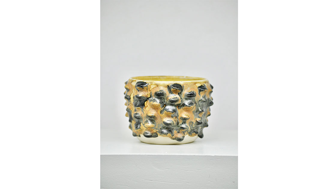 """Banksia,"" 2020, glazed ceramic, courtesy the artist"