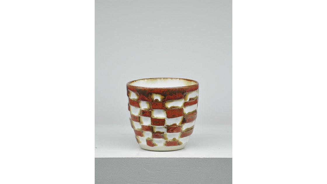 """Check on It,"" 2020, glazed ceramic, courtesy the artist"