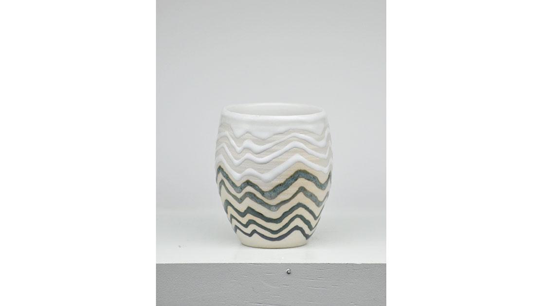 """Travelling Without Moving,"" 2020, glazed ceramic, courtesy the artist"
