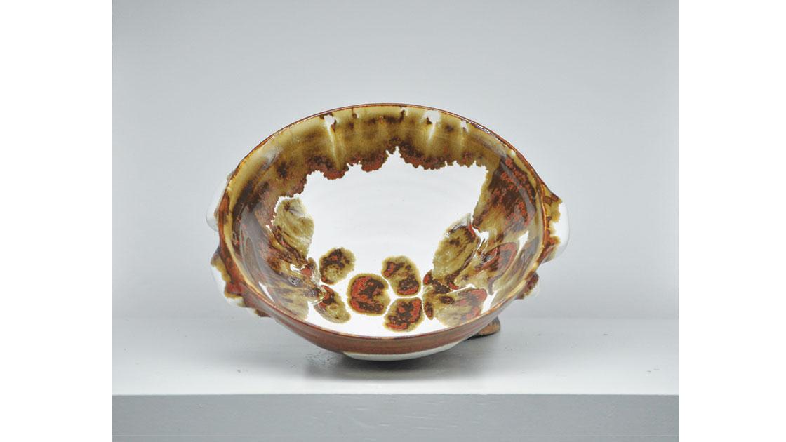 """""""Break the Shell,"""" 2020, glazed ceramic, courtesy the artist"""