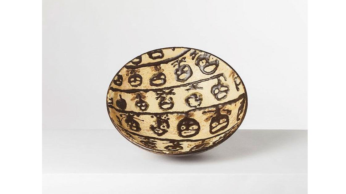 """All Eyes on Me,"" 2020, glazed ceramic, courtesy the artist"