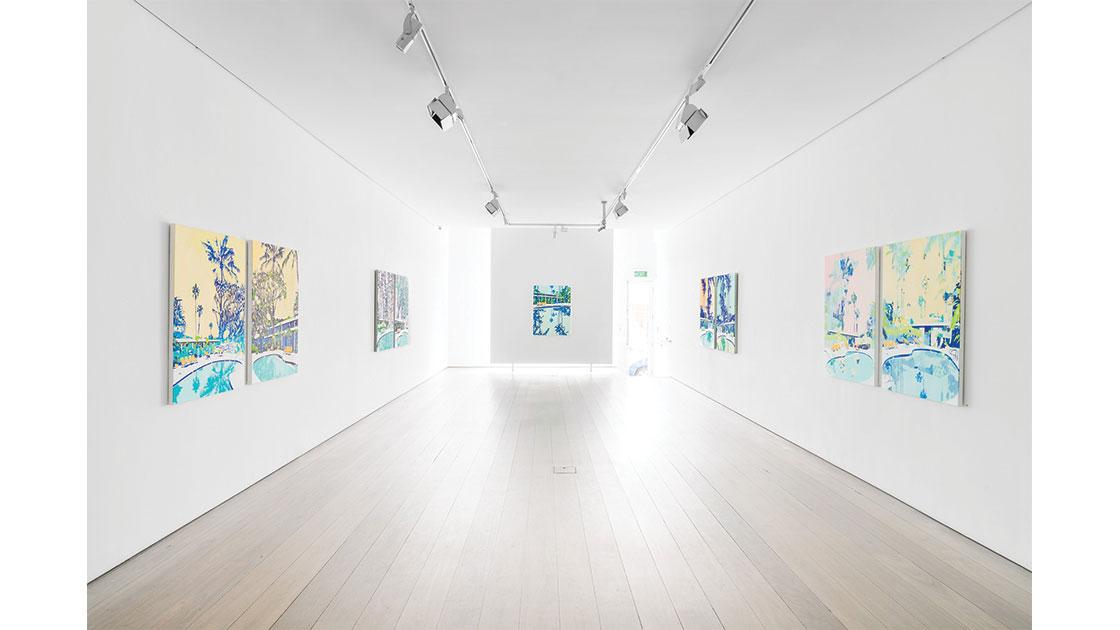 Paul Davies, Belvedere Loop, 2021, installation view at Olsen Gallery, Sydney, courtesy Docqment.